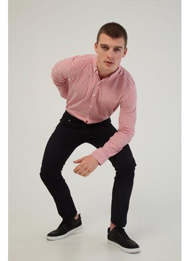 Modaset Slim Fit Jean Pantolon Lacivert Lacivert